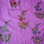 How to do Fabric Painting on Chudidhar