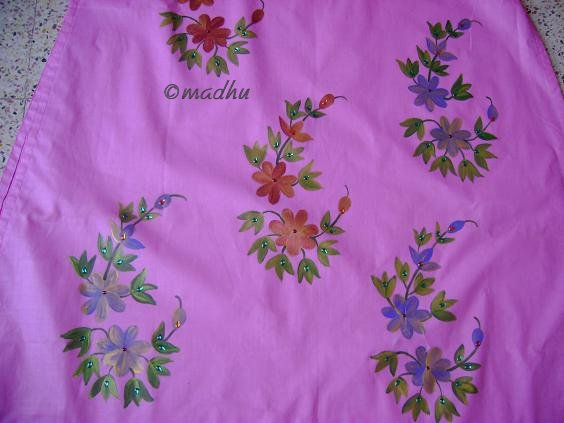 Flower Designs For Fabric Painting. fabric designs for painting