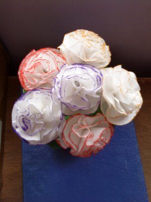 paper flowers craft. Paper Flowers
