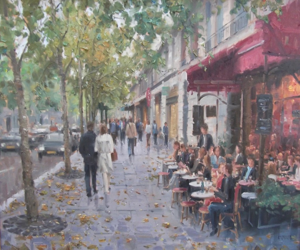 Inspiring Thursdays – Paintings by Eugene J. Paprocki