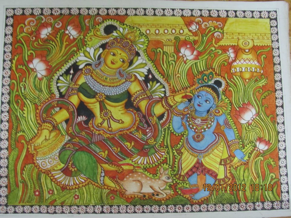 Mural Kerala Of Art Crafts Of India Craftziners